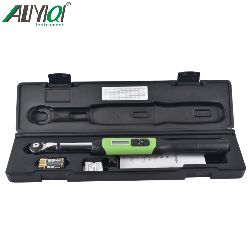 AWJC interchangeable head digital display wrench